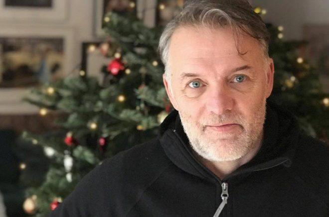 Magnus Nygren på Bookoutlet har en lyckad julhandel bakom sig. Foto: Privat.