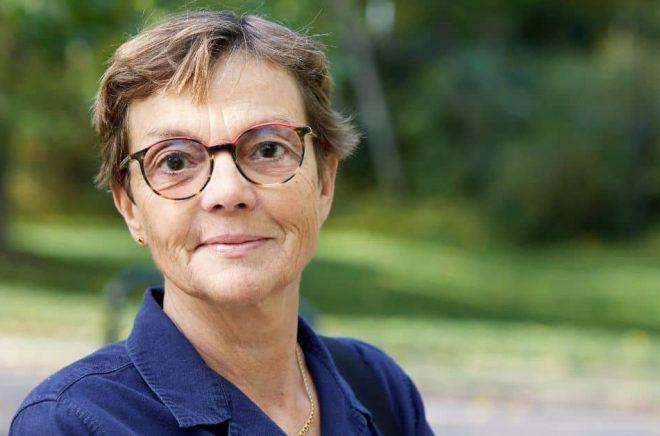Debutanten Maja Björklöv. Foto: Pressbild