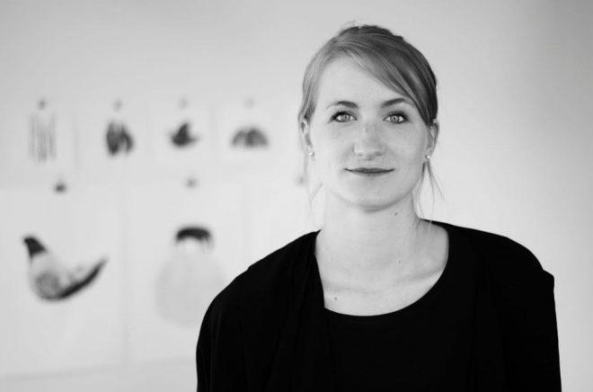 Maja Säfström, illustratör och författare. Foto: Rikkard Häggbom