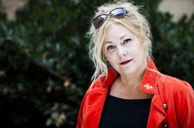 Författaren Maria Adolfsson släpper våren 2018 Felsteg är den första boken om kriminalkommissarie Karen Eiken Hornby i Doggerland. Fotograf: Caroline Andersson
