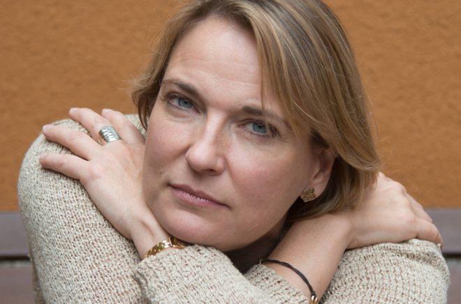 Författaren Maria-Bouroncle. Foto: Kristina W Smith.
