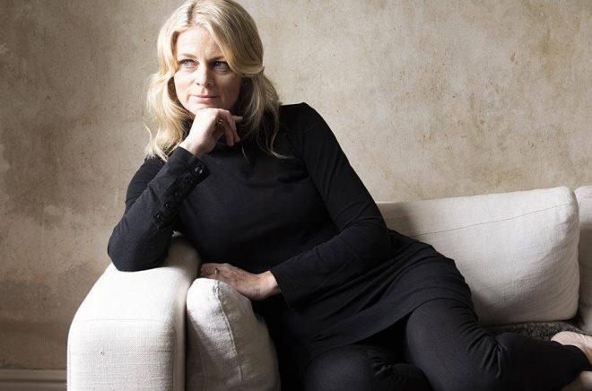Författaren Maria Grund debuterade med thrillern Dödssynden våren 2020. Foto: Pressbild/Modernista.