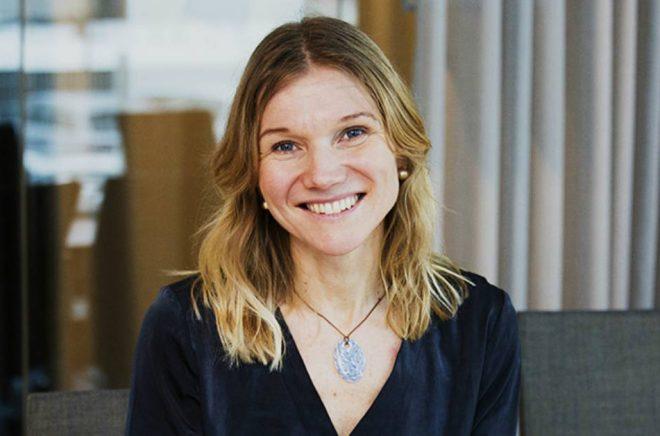 Maria Norberg blir ny kommunikationschef på Bokmässan hösten 2018. Foto: Jessica Nilsson.