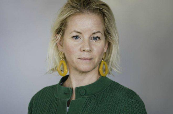 Maria Bengtsson, omnikanalsansvarig på Akademibokhandeln. Foto: Emma Ljungberg