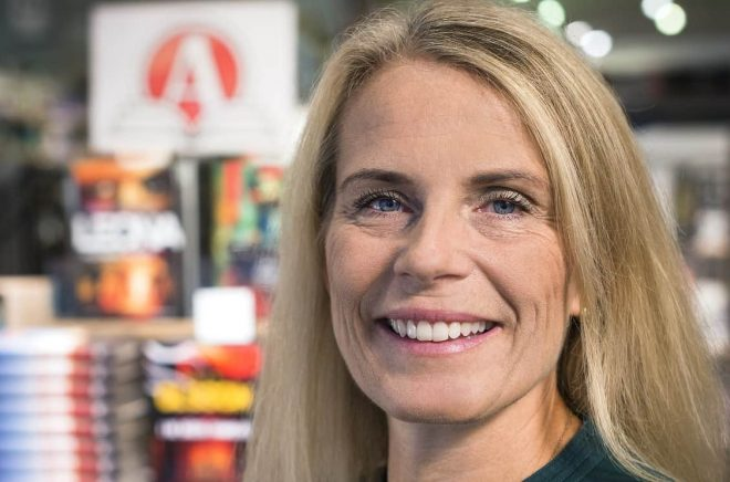 Maria Edsman, försäljningschef Akademibokhandeln