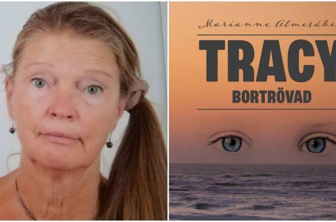 Marianne Almesåker debuterar med boken Tracy – Bortrövad. Foto: Privat