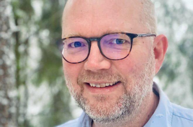 Psykologen och författaren Markus Dencker. Foto: Clara Dencker