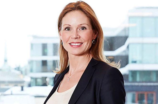 Martina Wattin, marknadschef Stockholm, Swedbank. Foto: Christopher Hunt.