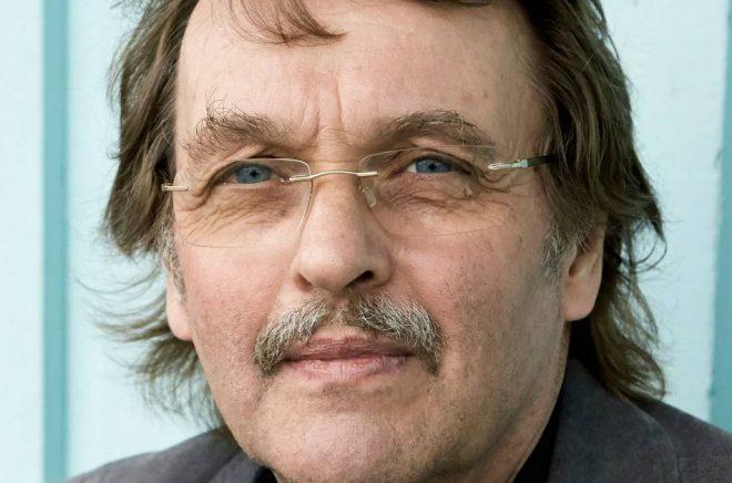Deckarförfattaren Mats Ahlstedt. Foto: Bengt Alm