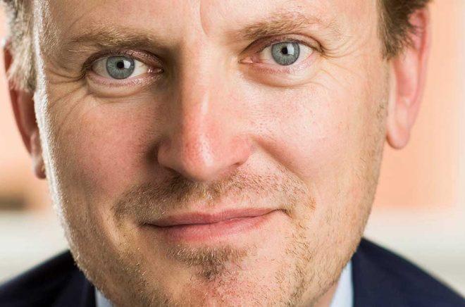 Mattias Fyrenius, ny tillförordnad förlagschef Bonnier Carlsen. Foto: Alexander Mahmoud.
