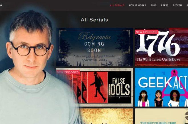 Mattias Lundgren, Word Audio Publishing International, är en av investerarna i Serial Box som kallar sig själva