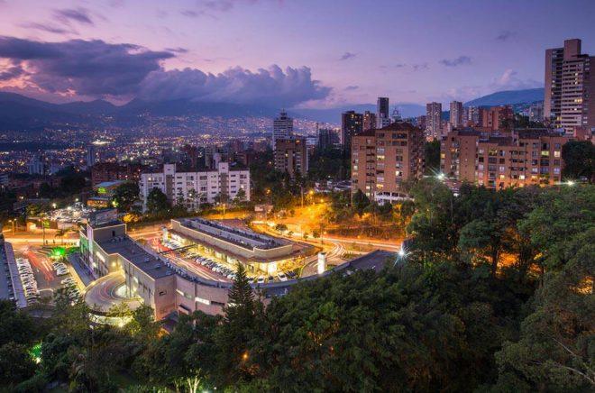 Här i Medellín, Colombias näst största stad, kommer Storytel att lansera sin ljudbokstjänst i samband med Medellíns bok- och kulturfestival. Foto: iStock.