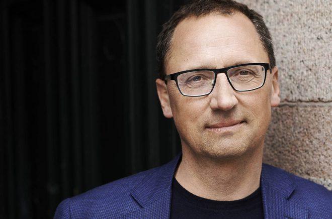 Morten Hesseldahl, VD för Danmarks största förlag Gyldendal. Foto: Robin Skjoldborg