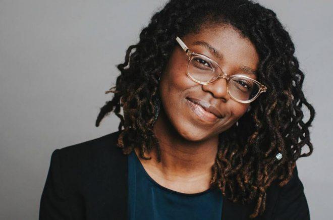 Författaren Kayo Mpoyi. Foto: Kajsa Göransson