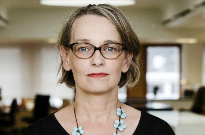 Nina Frid, handläggare på Kulturrådet, bland annat för satsningen