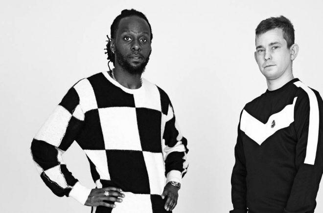 Martin Mutumba och Erik Niva. Foto: Pressbild/Mondial