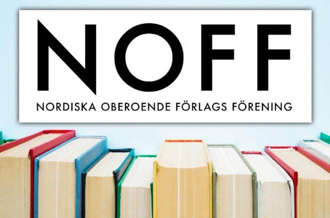 NOFF har fått en ny renare logga och lanserar nu även en ny hemsida för medlemsförlagen. Bakgrundsfoto: iStock.
