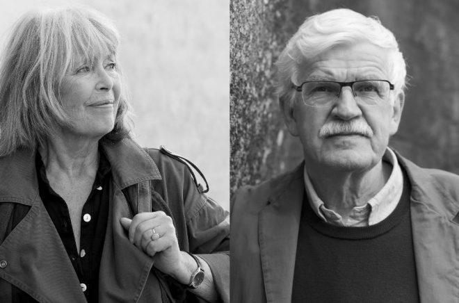 De två svenska nominerade författarna till Nordiska rådets litteraturpris 2018: Agneta Pleijel (foto: Göran Segeholm) och Gunnar D Hansson (foto: Jäger Arén).