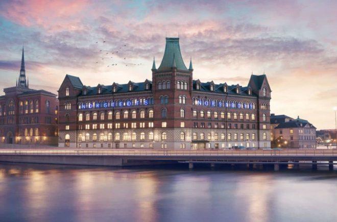 Norstedtshuset på Riddarholmen. Foto: Robert Eldrim