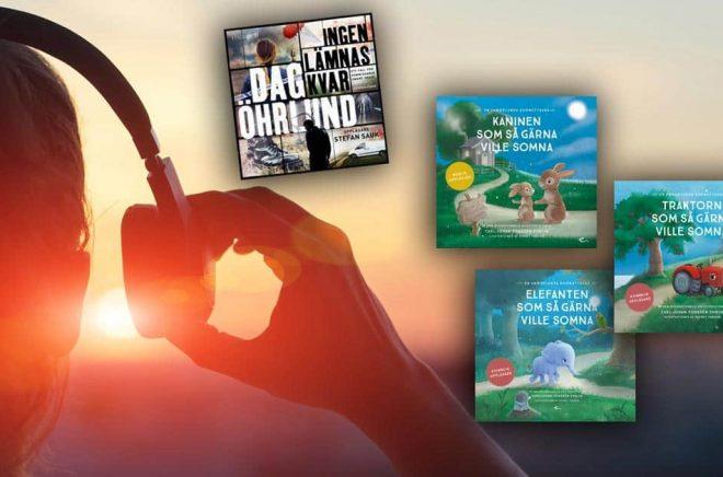 Dag Öhrlunds nya bok är efterlängtad av många ljudbokslyssnare - men den släpps exklusivt på Storytel som även avtalat om exklusivitet på ljudboksfavoriterna i Sömnserien. Bakgrundsfoto: iStock.