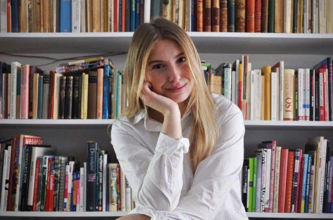 Debutanten Olivia Alhällen. Foto: Johanna Eriksson