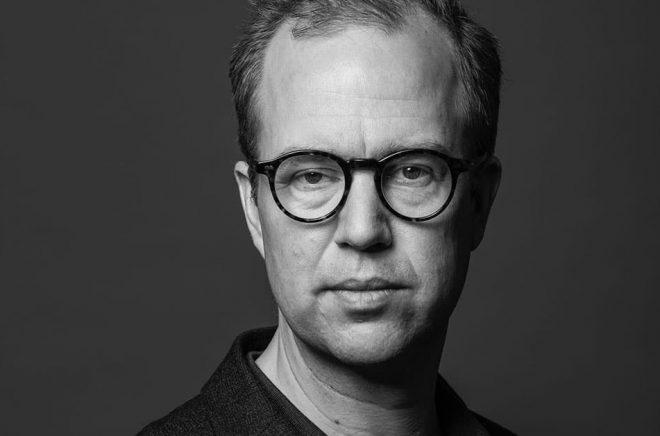 Olle Lidbom, kommunikationschef på Norstedts förlagsgrupp. Foto: Hugo Thambert.