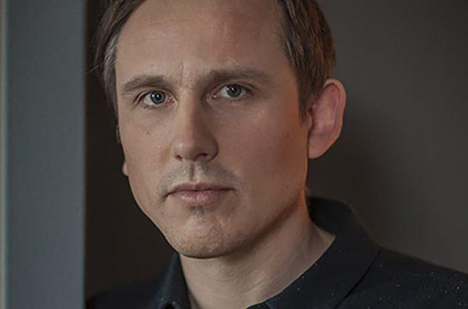 Oskar Ekström, ny programchef för Bokmässan i april 2018.