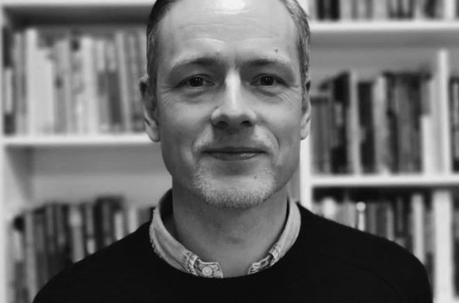 Oskar Törnström, ny redaktör på Saga Egmont. Foto: Pressbild
