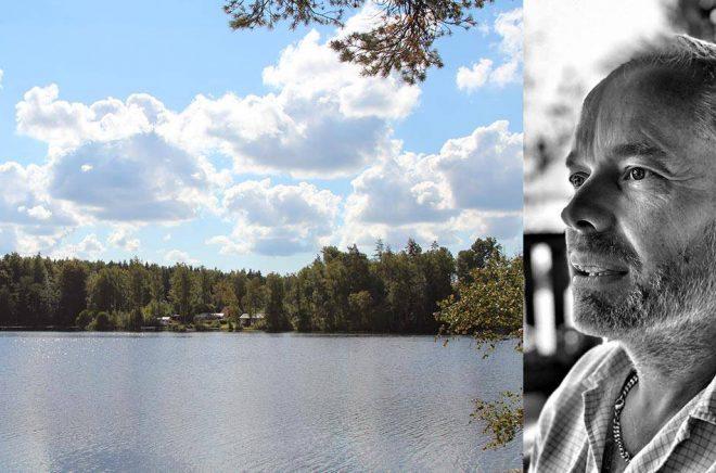 Författaren Patric Eghammer skriver om Olofström. Foto: Johan Eghammer och Privat.