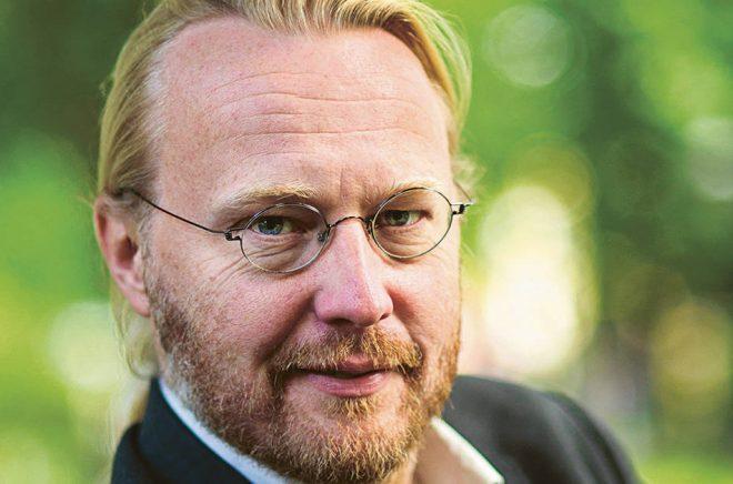 Pelle Andersson, förläggare (och förlagschef) på Ordfront Förlag. Foto: Jan-Åke Eriksson