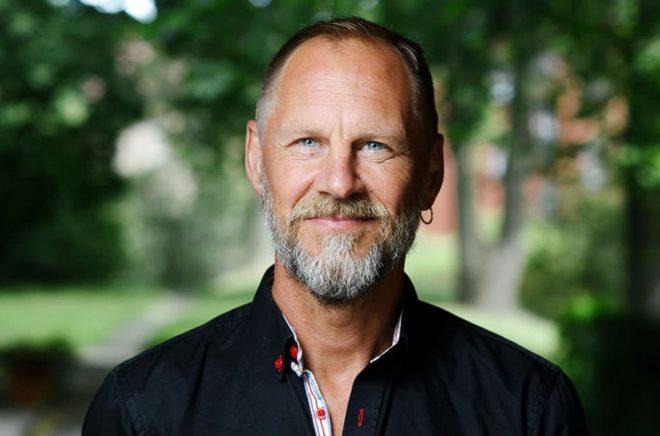 Barnboksförfattaren och illustratören Per Gustavsson. Foto: Stefan Tell.