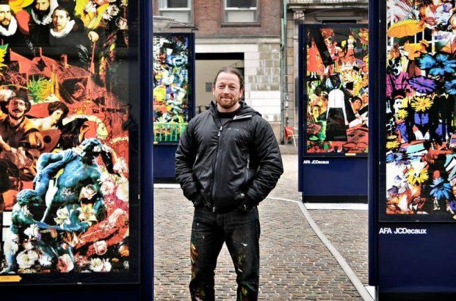 Per Josephson, konstnär och författare. Foto: Pressbild