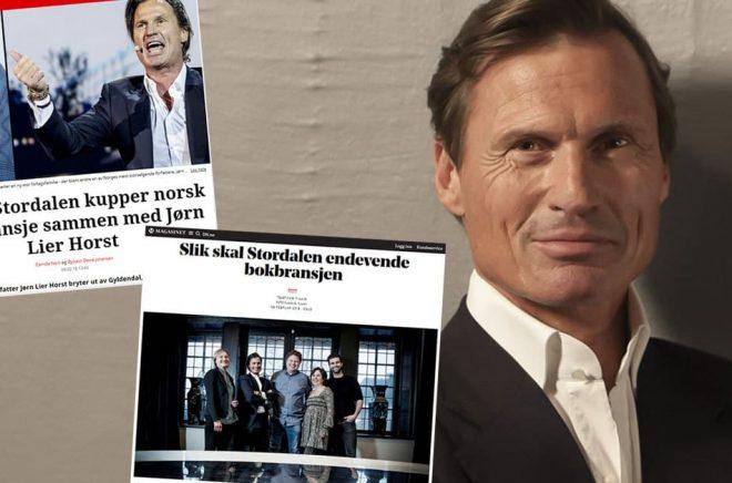 Hotellkungen Petter Stordalen har gett ut en bok. Nu ger han sig in i bokbranschen genom att investera i tre olika förlag. Något som skapat rubriker i Norge.