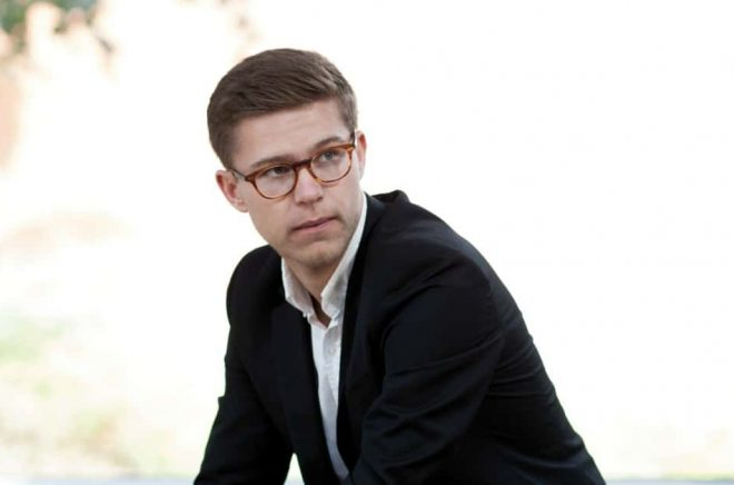 Författaren Philip Birk. Foto: Hans Jonsson