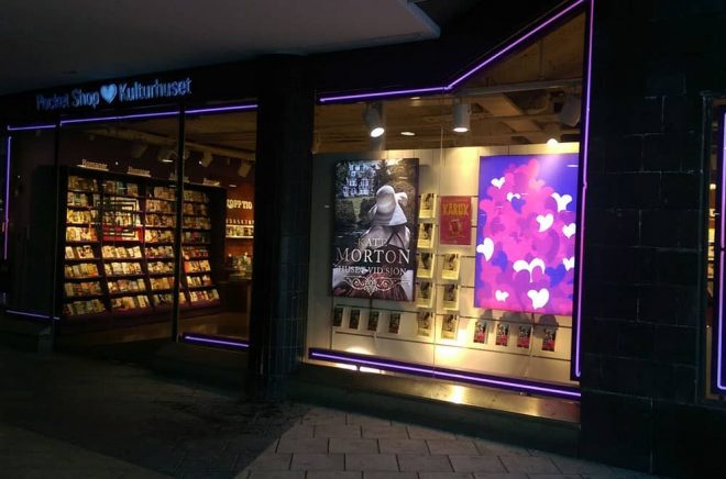 Pocketshop Kulturhuset i Stockholm stängde den 16 januari 2018.