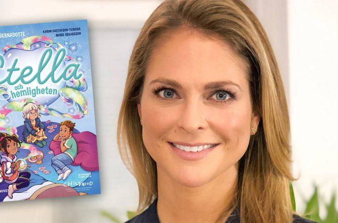 Prinsessan Madeleine debuterar som barnboksförfattare i juni 2019. Foto: Charles Lidbom