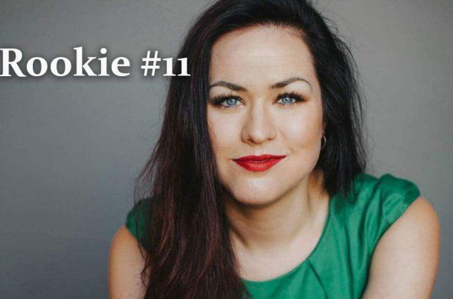Författaren Camilla Sten i en lång intervju i Rookie 11. Foto: Kajsa Göransson