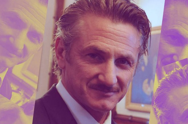 Sean Penn är i blåsväder med sin nya bok ...