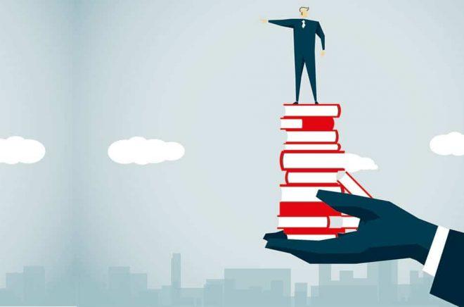 Den stora vänliga jätten borde bli förebilden för de stora bolagen i bokbranschen. Illustration: iStock