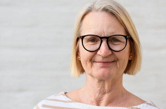 Författaren Sabine Schulz-Svensson. Foto: David Kummerfeldt.