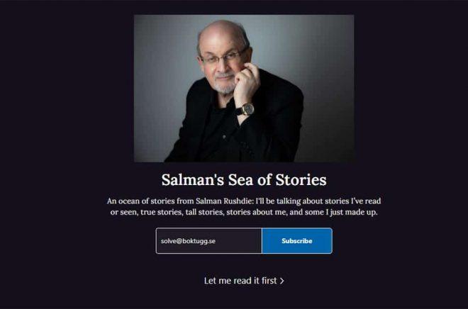Salman Rushdie Substack