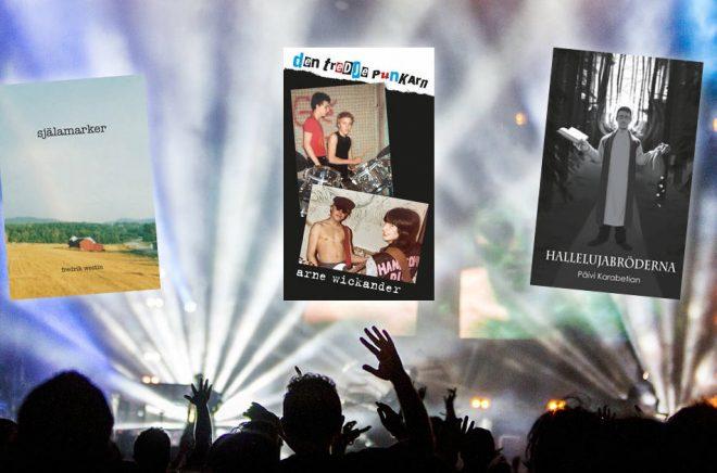 Tre böcker kvar som kan vinna Selmapriset 2019. Bakgrundsfoto: Pixabay.