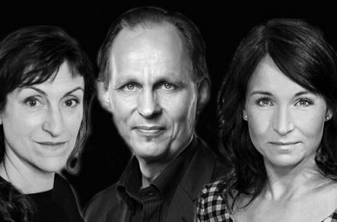 Fem av de författare som kommer att gästa Sigtuna Litteraturfestival 2018.