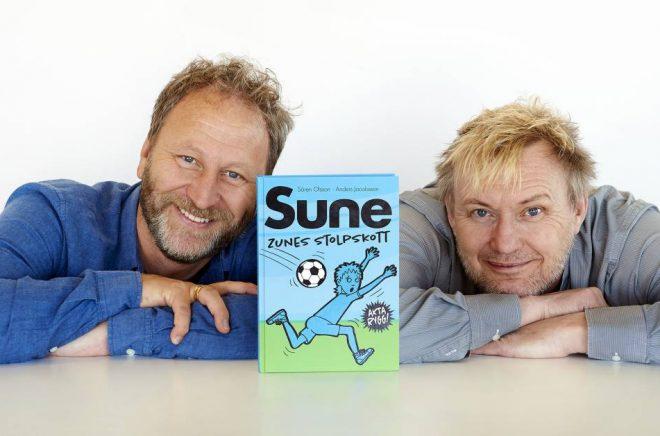 Sören Olsson och Anders Jacobsson –en omåttligt populär författarduo.