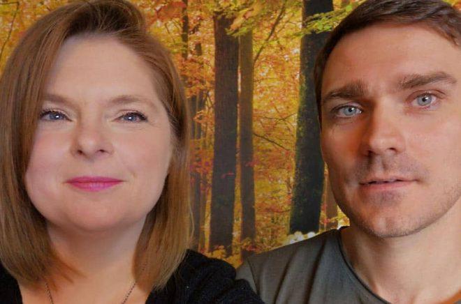 Sofi Poulsen, förläggare på Darkness Publishing, tar tillsammans med Christoffer Lindqvist, serieentreprenören från Växjö, över den populära barnboksappen Kidsread. Foto: Selfie.