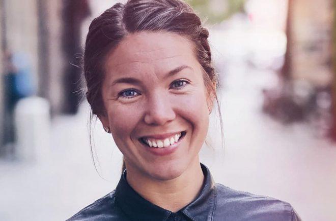 Sofia Eriksson, marknadschef BookBeat. Foto: Andreas Carlfors