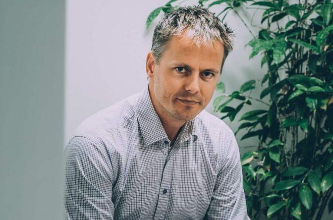 Sölve Dahlgren, vd och chefredaktör för Boktugg. Foto: Conny Palmkvist