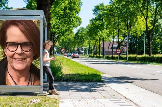 Eva Månsson, Isaberg Förlag. Foto: Pressbild. Bakgrundsfoto: iStock. Montage: Boktugg.