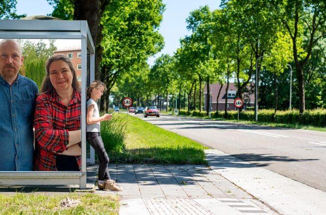 Anders Svedin och Sara Gidlund på Gidlunds förlag. Foto: Privat. Bakgrundsfoto: iStock. Montage: Boktugg.
