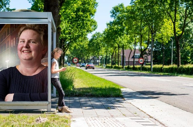 Jeanette Rosengren på Kira Förlag. Foto: Pressbild. Bakgrundsfoto: iStock. Montage: Boktugg.